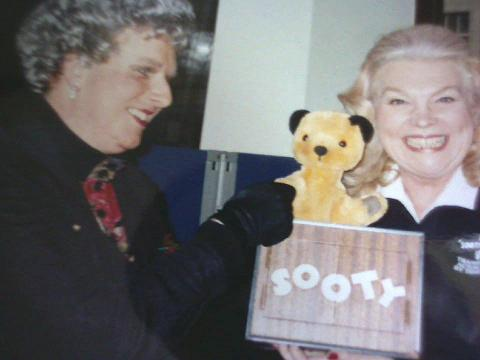 With TV superstar SOOTY